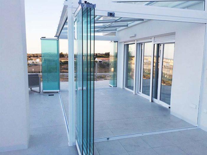 Cortinas de cristal, la solución para cerrar las terrazas