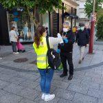 O goberno de Vigo repartirá outras 20.000 máscaras nos mercados municipais