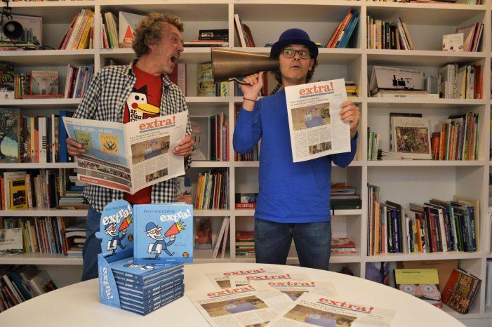 Paco Nogueiras e Marc Taeger presentan 'EXTRA!' este venres en Vigo