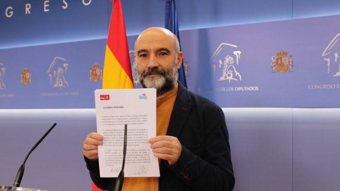 BNG reclama a Pedro Sánchez menos triunfalismo e máis pasos concretos para cumprir o acordado