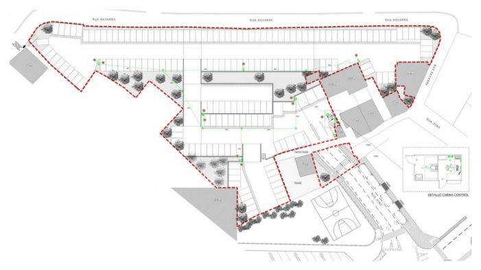 El Ayuntamiento concede la licencia para un nuevo aparcamiento en superficie en la calle Navarra