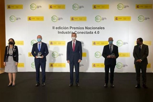 Los Premios Nacionales de la Industria Conectada 4.0 galardonan a Aves Nobles y Contadores de Agua de Zaragoza