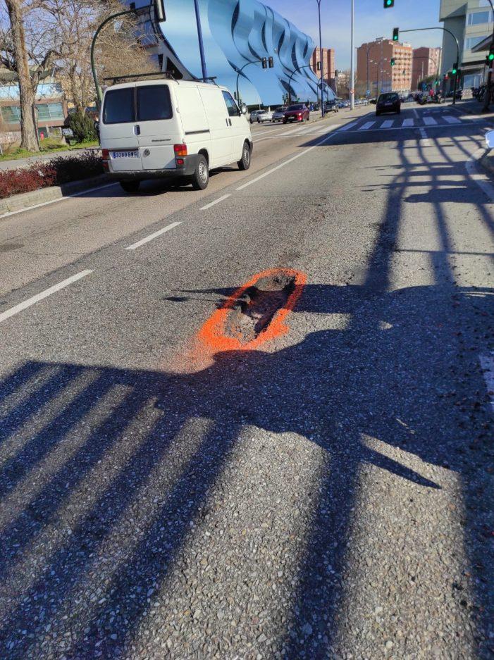 El PP pide un plan de asfaltado en viales de la ciudad por el mal estado generalizado y propone una actuación inmediata en diez vías