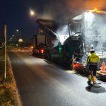 O Concello de O Porriño repara un tramo da estrada principal do polígono das Gándaras