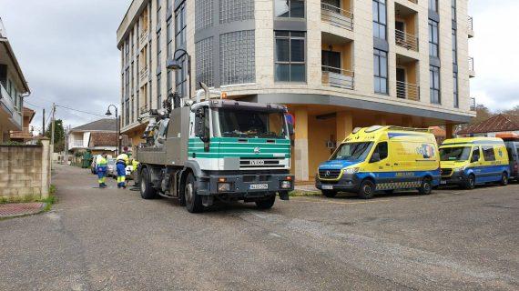 A situación da base do 061 en Cangas sumida na catástrofe no maior pico da pandemia
