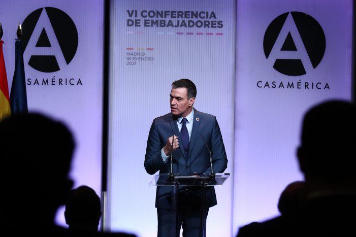 """Sánchez: """"2021 debe ser el año de la gran recuperación y de la gran transformación económica de España"""""""