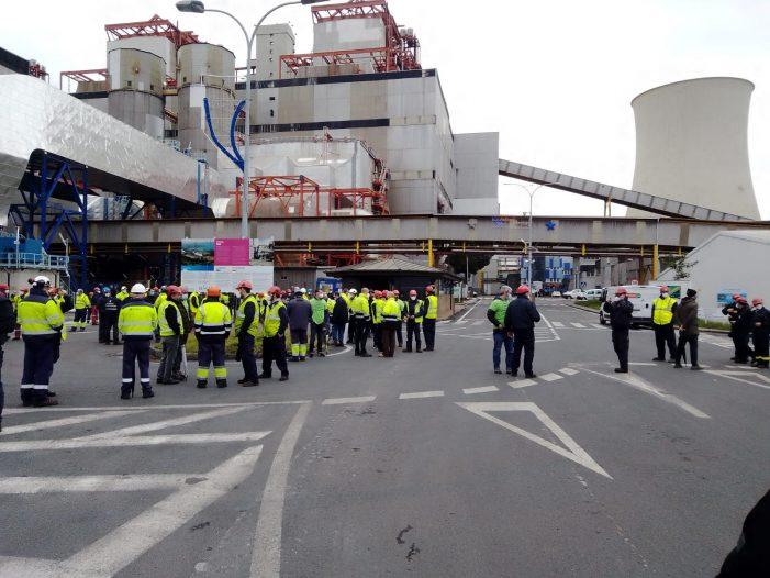 "O comité de Endesa denuncia o ""desmantelamento camuflado"" da central das Pontes"