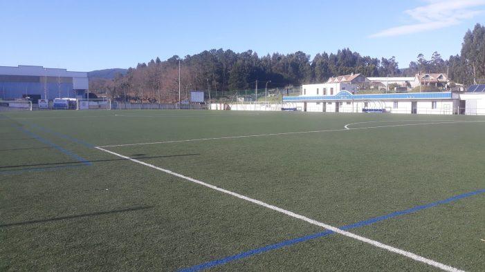 Tomiño realizará obras de mellora no campo de fútbol de Goián