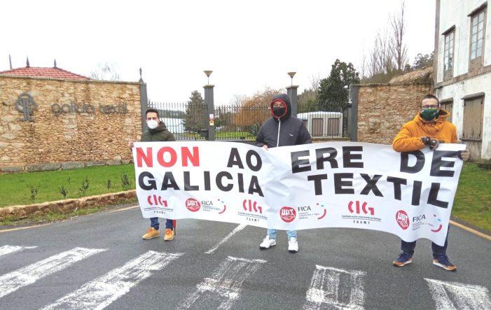 O comité de Galicia Téxtil pide a intervención da Xunta e que revise a concesión do salto de auga se a empresa mantén o ERE de extinción