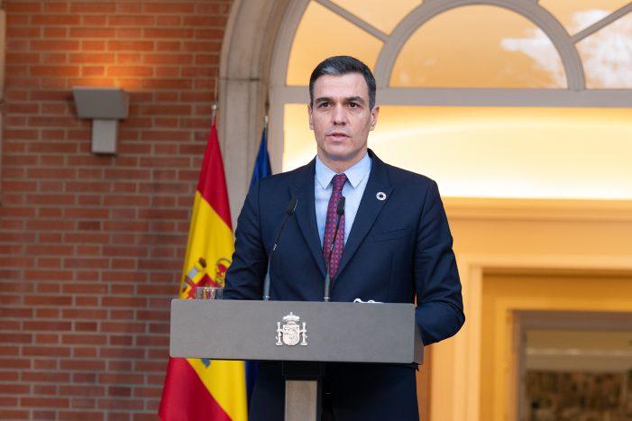 Pedro Sánchez anuncia la nueva composición del Ejecutivo