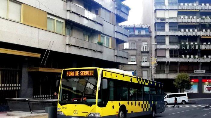 Continúa o conflito laboral nos autobuses urbanos de Ourense