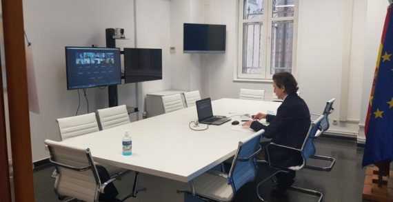 A Xunta impulsa os contactos coa Comisión Europea no ciclo de encontros virtuais da Fundación Galicia Europa