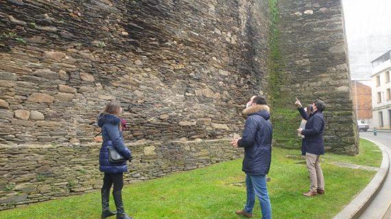 Licitan as obras de restauración do lenzo da Muralla na rúa Clérigos, cun orzamento de 142.000 euros