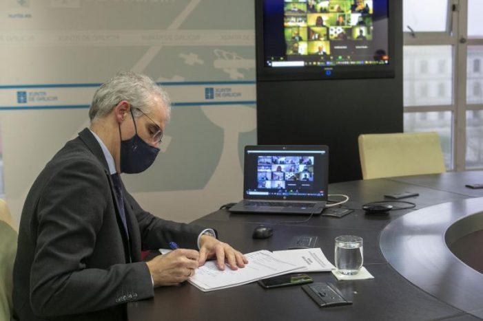 A Xunta mantén o seu compromiso de colaborar na solución e reclama a Endesa que traballe na viabilidade económica e ao Goberno que non autorice o peche da central