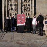 La Xunta participa en la presentación del cartel de la Semana Santa de Santiago en una edición especial con motivo del Año Santo