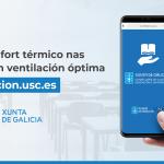 A Xunta reforza cunha sesión formativa online o uso da nova ferramenta de ventilación que xa usan 451 centros