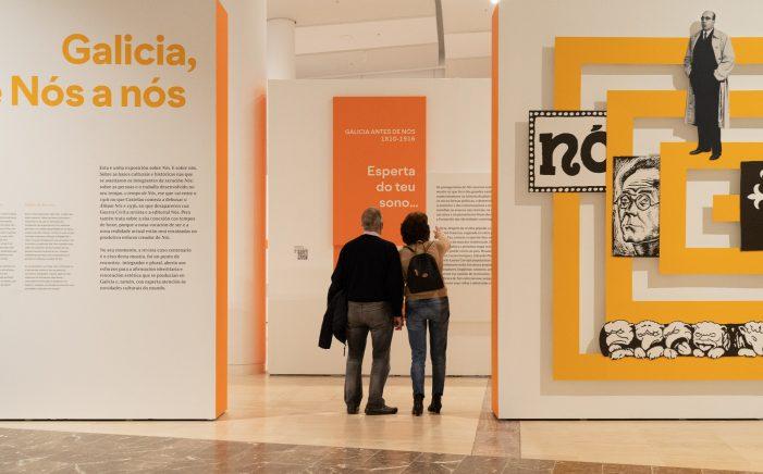 A exposición 'Galicia, de Nós a nós' despídese do Gaiás con 15.000 visitantes e inicia a súa itinerancia a Ourense e Pontevedra