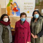 El grupo municipal del PP conoce la labor de Ayuvi durante la pandemia