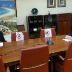 Abel Caballero recibe a la alcaldesa de Redondela