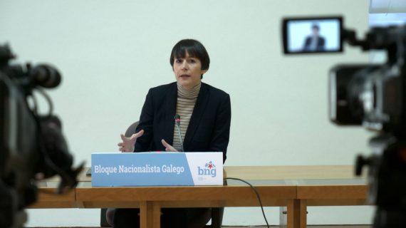 Ana Pontón pide que compareza Feixóo no Parlamento ante a evolución da pandemia e para presentar o plan de vacinación