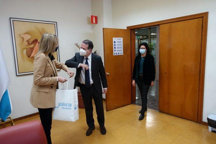 El alcalde se reúne con el delegado de la Xunta en Vigo