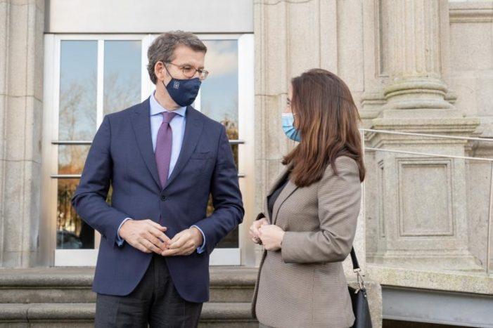 """Feijóo confirma o desbloqueo para construír o Novo CHUAC, """"o maior investimento feito polo Goberno galego en 40 anos na cidade"""""""