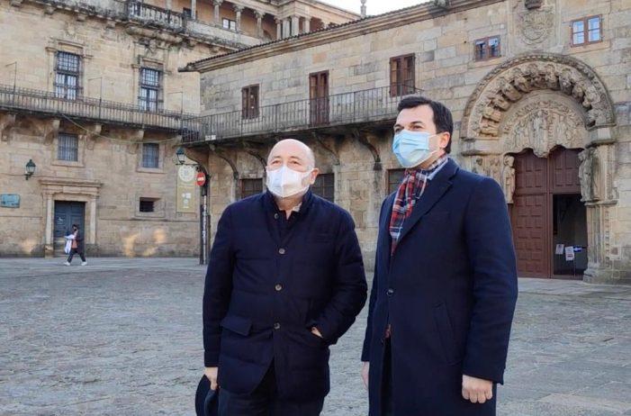 """Gonzalo Caballero garante """"a firmeza necesaria"""" do PSdeG para seguir poñendo """"os intereses dos galegos na axenda do goberno de España"""""""
