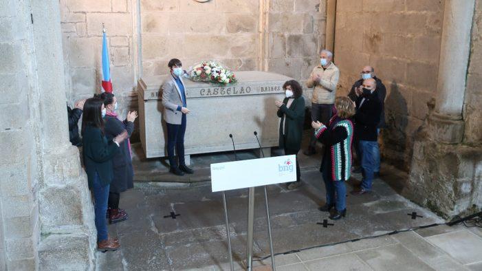 "Ana Pontón na homenaxe a Castelao: ""a esencia do BNG é defender Galiza"""