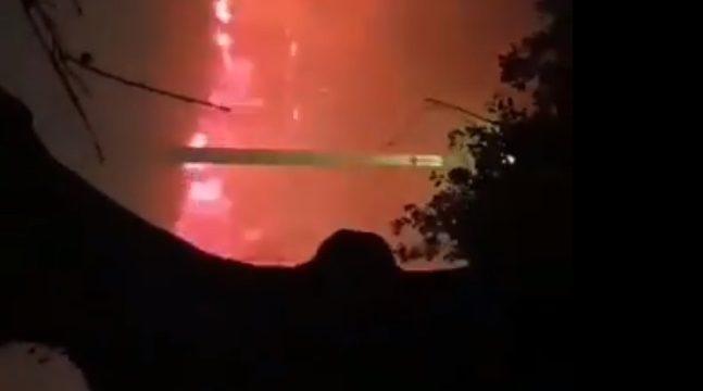 Arde o Norte de Portugal na localidade de Valença limítrofe con España
