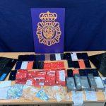 La Policía Nacional detiene a un hombre que obtuvo datos de más de 4.000 tarjetas bancarias usando el método smishing