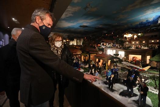 La Xunta destaca el atractivo turístico del Belén Artesanal en Movimiento de Valga