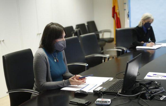 """Lorenzana insta a deputacións e concellos a acadar mañá un acordo para """"sumar esforzos"""" e apoiar aos colectivos máis afectados pola covid-19"""