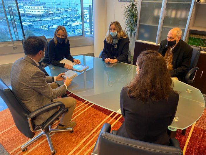 Marta Fernández-Tapias y el COAG estudian posibles vías de colaboración en el marco del consorcio Casco Viejo de Vigo