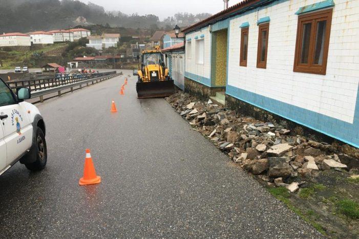 Arrancan as obras de mellora da accesibilidade na baixada á praia de Fedorento e na contorna do Estadio Municipal da Guarda