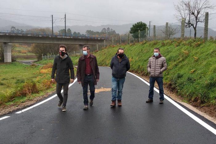 Rematadas as obras de pavimentación de viais nos lugares de Faxil e A Cancela