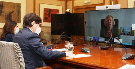 Salvador Illa y los ministros de Sanidad de la Unión Europea intercambian información sobre el proceso de vacunación