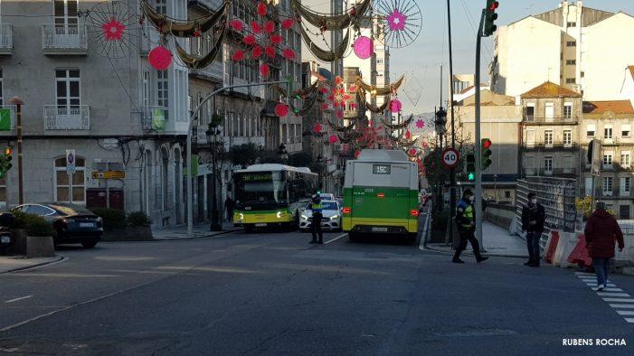 O alcalde demanda que o Estado compense o descenso de viaxeiros de autobús polo Covid