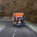 A Deputación intensifica medios e esforzos no mantemento das estradas da rede provincial ante a complexa situación derivada da vaga de frío