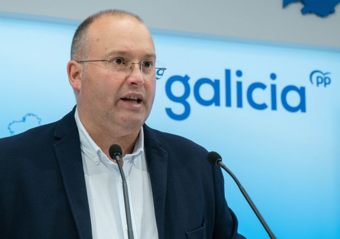 Tellado valora a sensibilidade de Feijóo cara a Galicia ferida pola pandemia