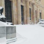 Cierre de teatros y museos estatales por alerta meteorológica