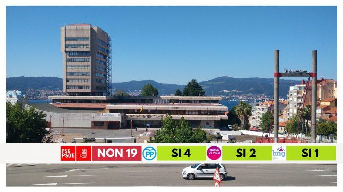 O goberno municipal de Vigo vota en contra de liberar a AP-9