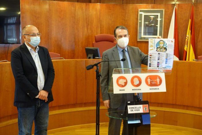 """O alcalde destaca o """"ambicioso"""" programa de Vigocultura e garante que non se cancelará ningún espectáculo"""