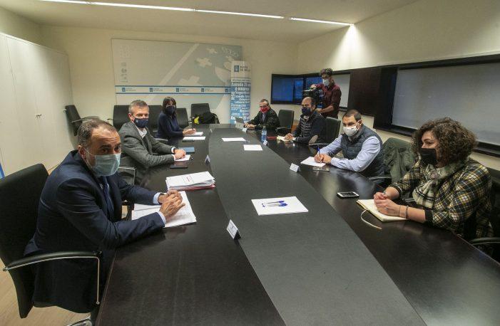 O Goberno Galego perfila cos representantes da hostalaría un segundo Plan de rescate para facer fronte ás novas restriccións sanitarias