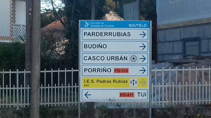 Un total de 16 empresas presentan ofertas para executar a nova senda peonil e ciclista na estrada PO-411 en Parderrubias, en Salceda de Caselas, cun investimento de máis de 876.000 euros