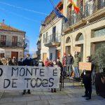 A Plataforma veciñal de afectados pola comunidade de montes da Guarda denuncia un novo atropelo na casa dos Alonso