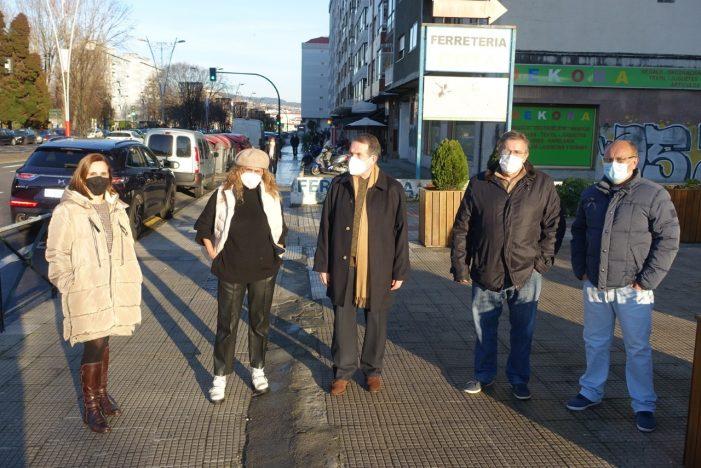 O alcalde Abel Caballero anuncia unha humanización de alto nivel na Avenida de Castelao usando os remantentes