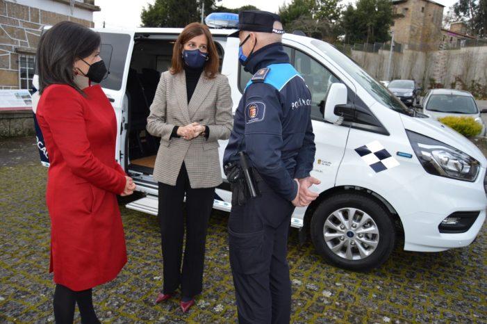 A Xunta colabora co Concello de Mos na adquisición dun novo vehículo destinado ás labores ambientais da Policía Local