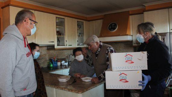 O Concello de Nigrán arranca o ano estreando o programa 'xantar na casa' co primeiro reparto de comida a domicilio para maiores e dependientes