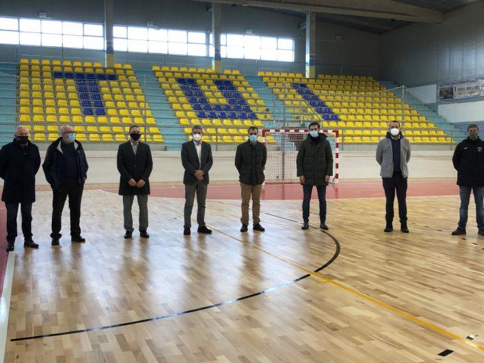 A veciñanza de Tui ve renovadas as súas instalacions deportivas grazas ao investimento de 210.000 euros con cargo do plan concellos