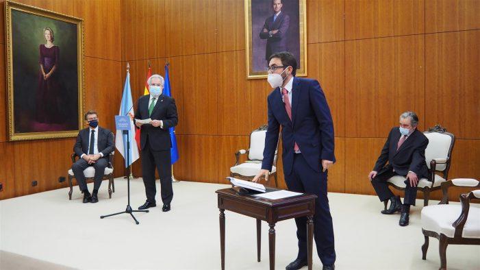 Simón Rego Vilar toma posesión como conselleiro do Consello de Contas no Parlamento de Galicia